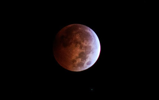 A Total Lunar Eclipse in the Philippines on October 8, 2014