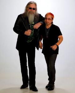 w/ guitar legend Les Dudek - 2012