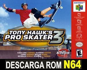Tony Hawk's Pro Skater 3 ROMs Nintendo64