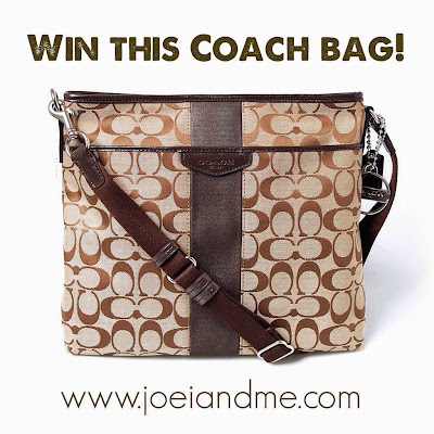 Joei & Me Birthday Giveaway: Win A Coach Crossbody Bag