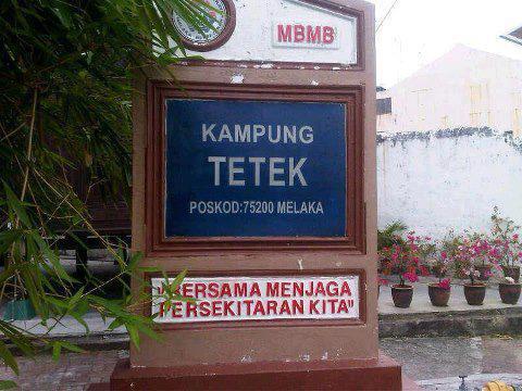 Kampung Tetek