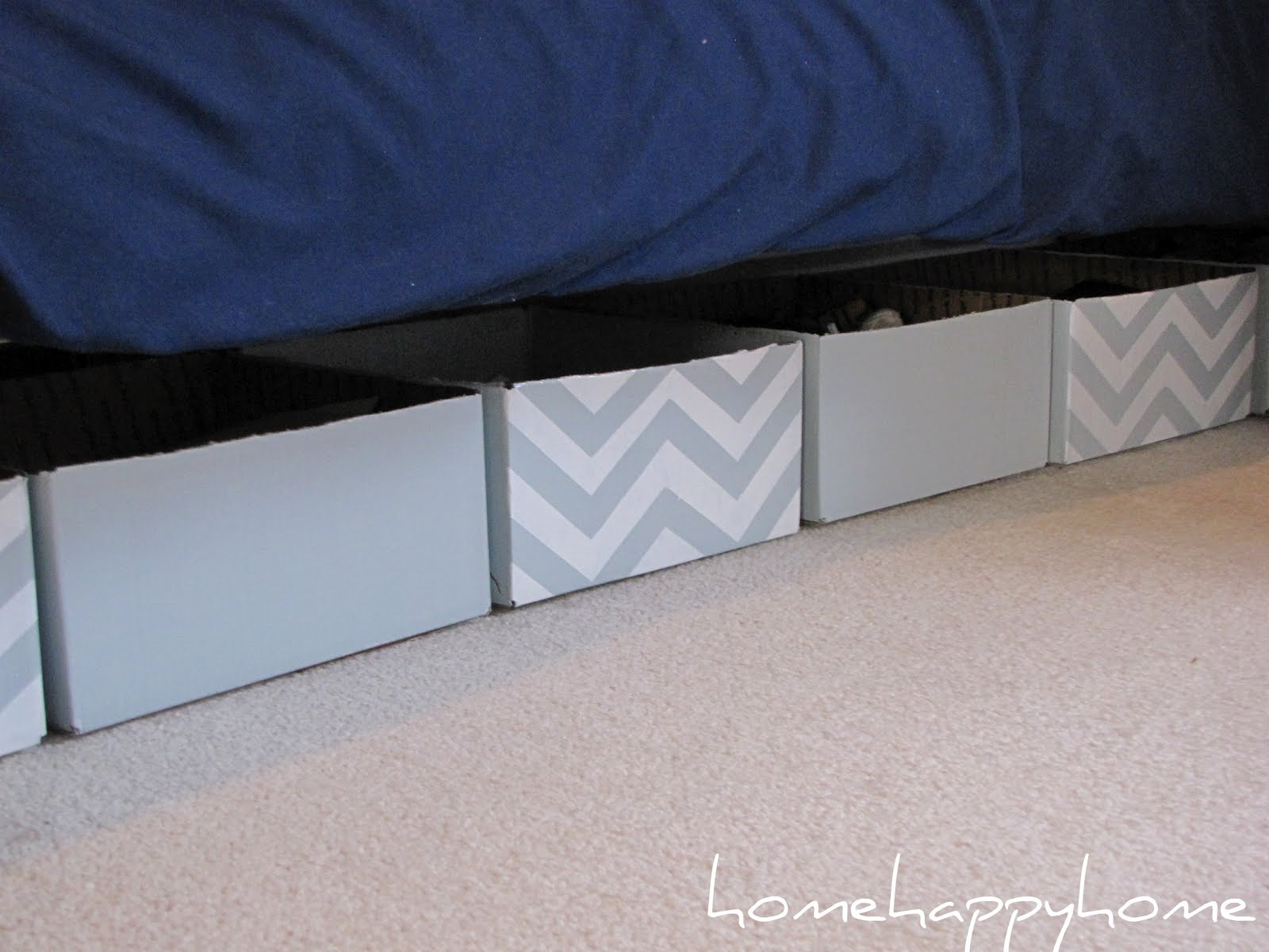 Bookgirlcreations diy underbed storage Under bed book storage