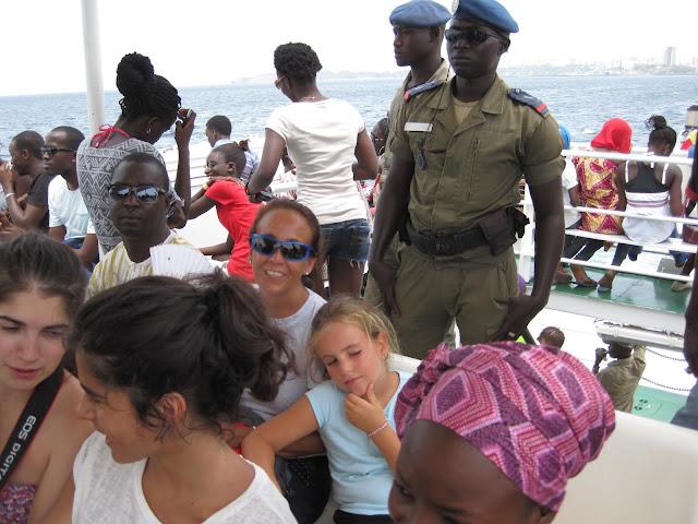 Ferry a la Isla de Gorée (Senegal)