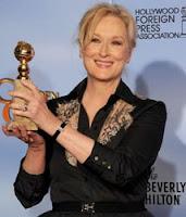 Meryl Streep - Globo de Ouro 2012