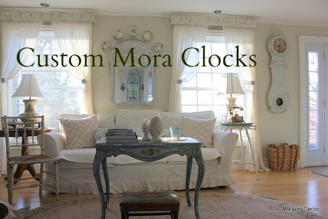 Maison decor our new deluxe maison decor mora clock for Maison decour