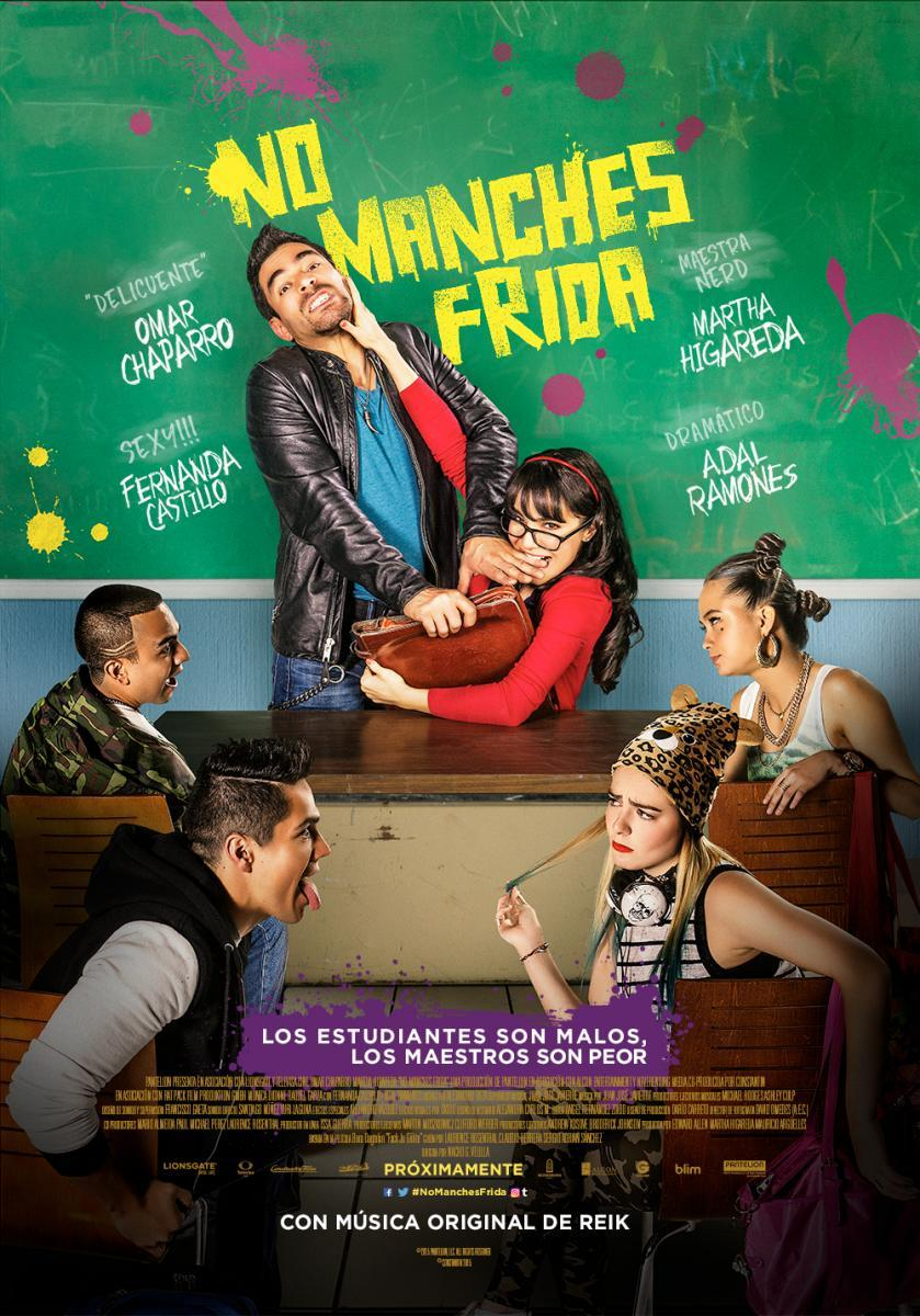 Ver Pelicula No Manches Frida en latino