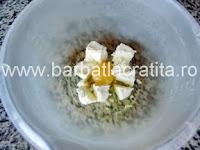 Tarta de branza cu dovlecei preparare reteta