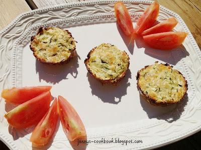 zucchini bites - secret recipe club