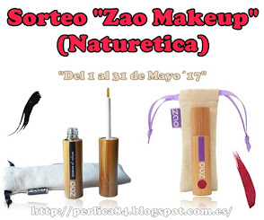 "Sorteo ""Zao Makeup"" (Naturetica)"