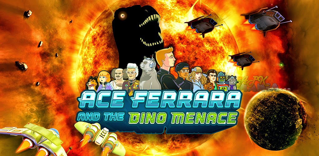 Download Ace Ferrara & The Dino Menace Apk + Data