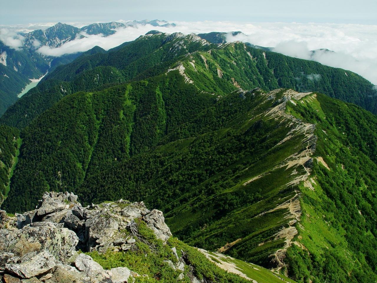 Landforms in the World: Erosion Landform ( 19. Ridge )