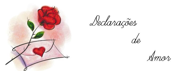 Declarações de Amor