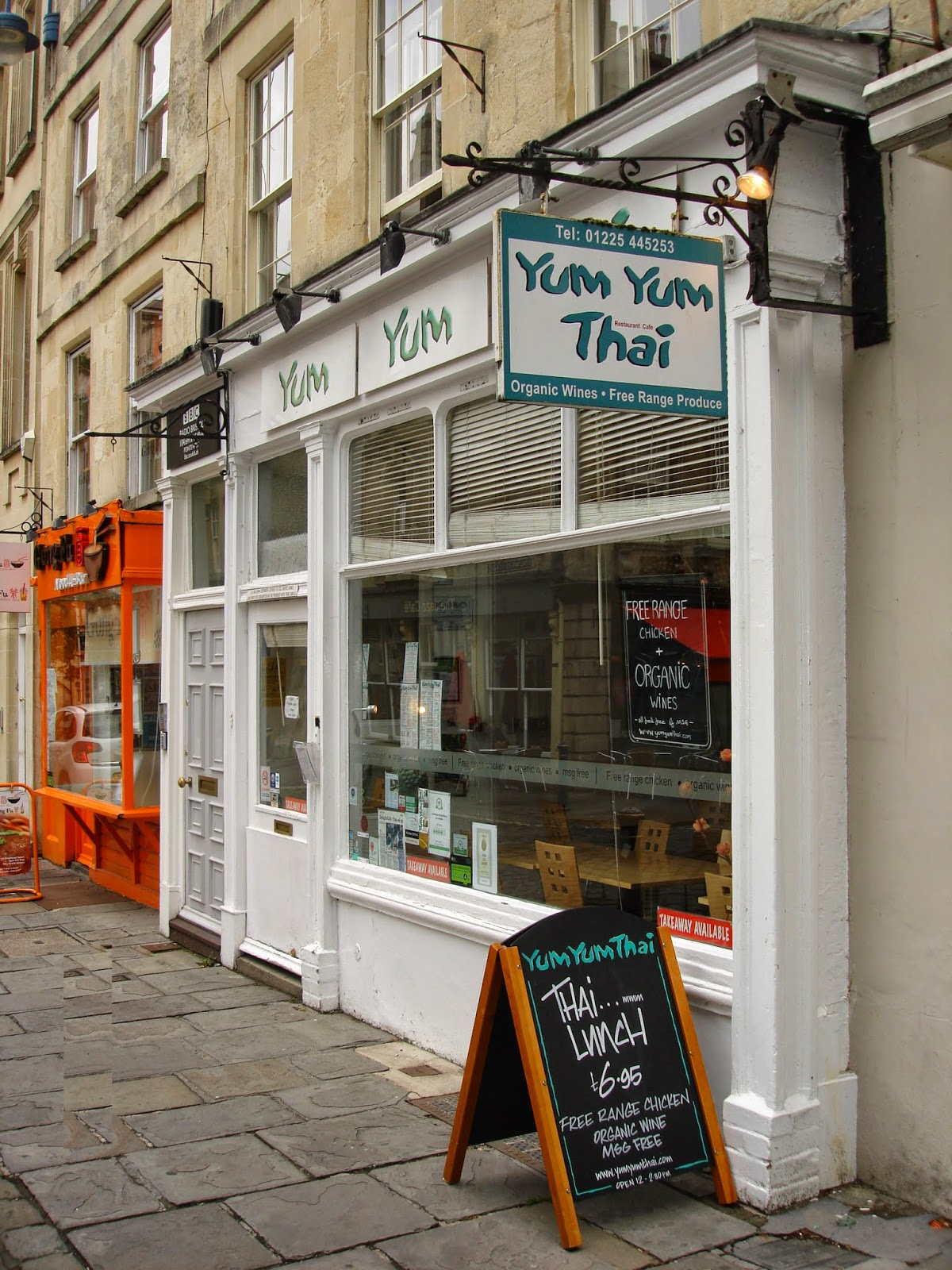 yum yum thai restaurant exterior, Bath