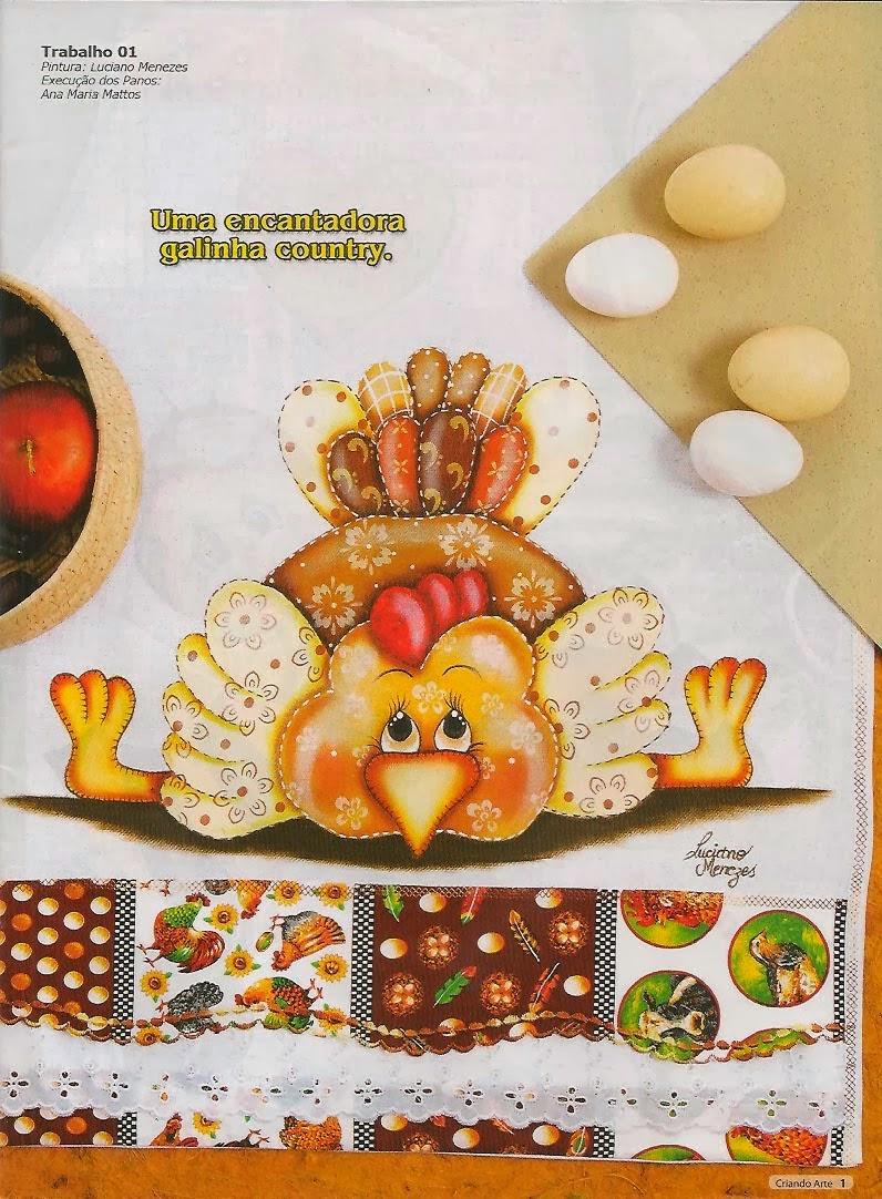 Riscos para pintura de galinha, joaninha e abelha