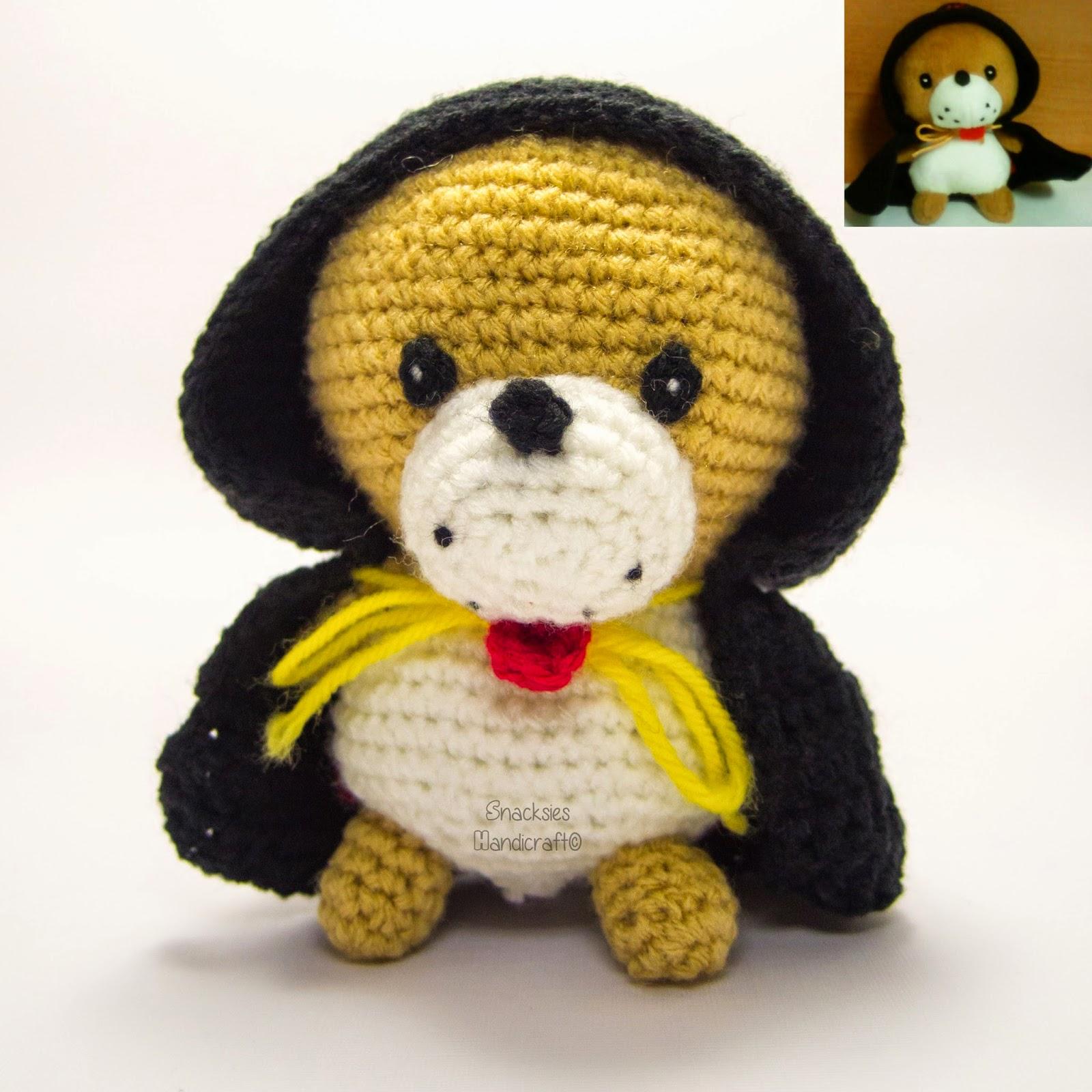 crocheted Kiwatarou (極太郎) amigurumi