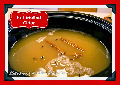 Adorned From Above: Hot Mulled Spiced Cider
