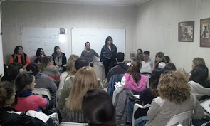 Charla a estudiantes de AT en Salud integral
