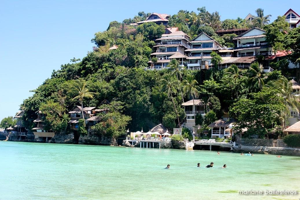 Boracay Island Resorts Map
