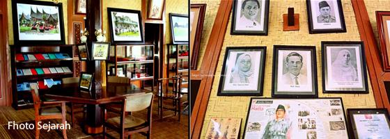 poto sejarah dan barang antik minangkabau di minang village