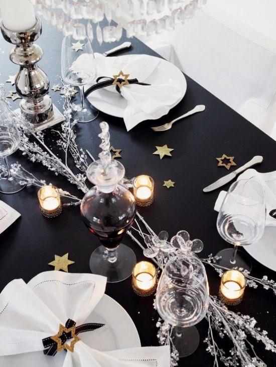 Decoração Natal - mesa consoada