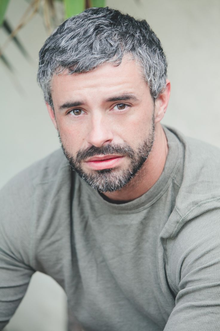 Gray Haired Men The Haircut Web