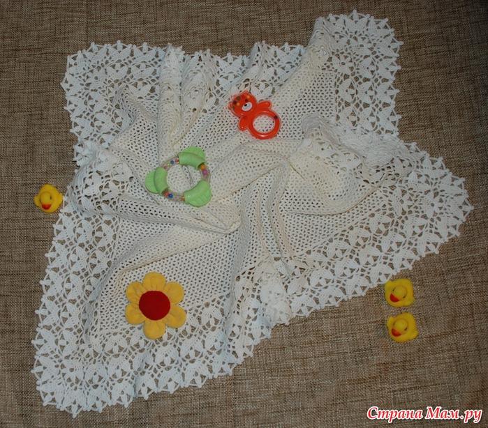 Colcha para bebe a crochet con patr n grafico patrones - Colchas ganchillo bebe ...