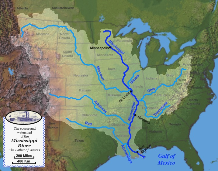 Mississippi River  Geology Page