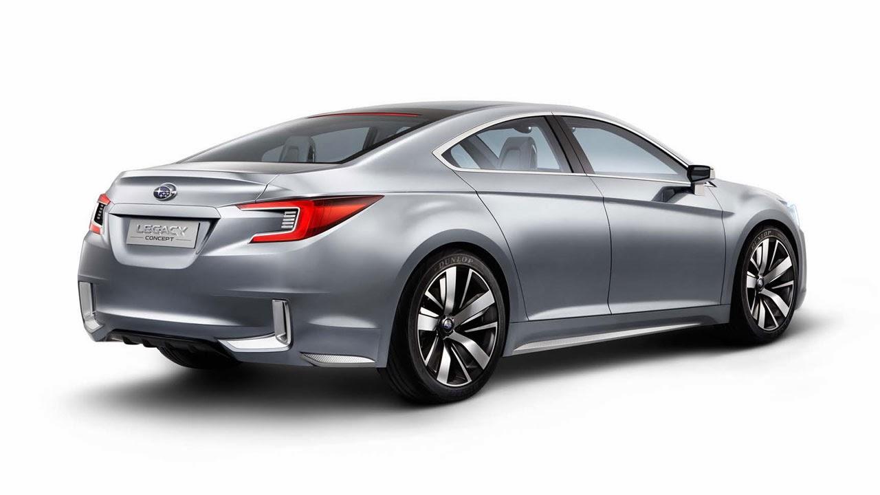 Subaru Legacy Concept rear