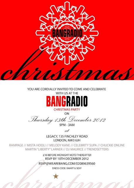 Bang Radio Christmas Party