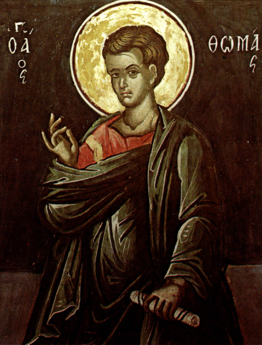 thomas the apostle On july 3, the church celebrates the feast day of st thomas the apostle best  known for his initial unwillingness to believe the other apostles in their claim that .
