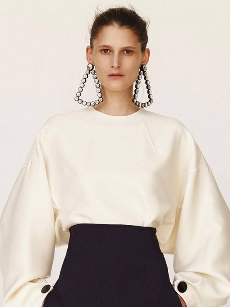 Céline, statement earrings
