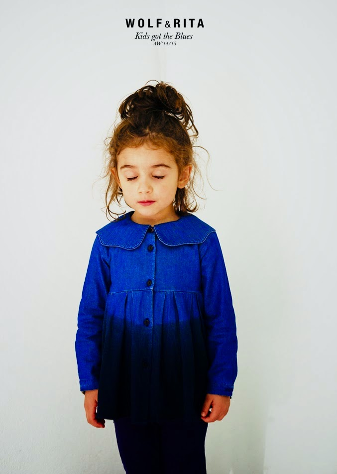 "Wolf & Rita Autumn-Winter 2014/15 collection ""Kids got the Blues"""