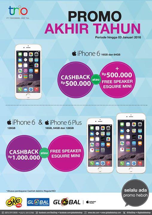 iPhone 6 dan 6 Plus Promo di OkeShop dan Global Teleshop 889af219e3