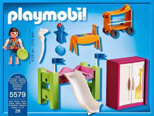 Juguetes playmobil city life 5579 habitaci n de los for Salle a manger playmobil city life