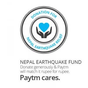 Nepal Earthquake Fund Paytm