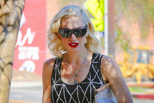 Fashionable little family_Gwen Stefani with sons in Los Angeles