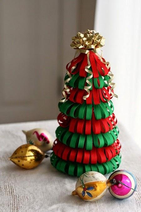 Arboles de Navidad con Materiales Reciclados