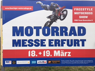 Alles rund um das Motorrad auf der Erfurter Messe