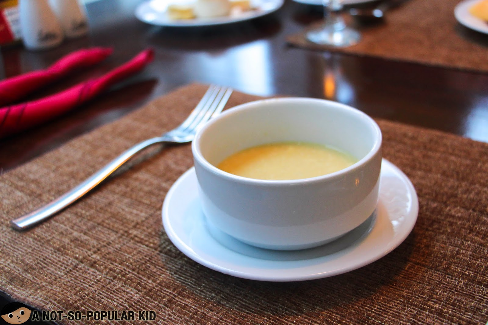 Corn and Egg Soup - Alba Restaurant
