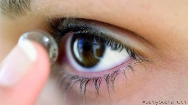 عدسات لاصقة طبية من Google يمكنها قياس معدل السكر في الدموع