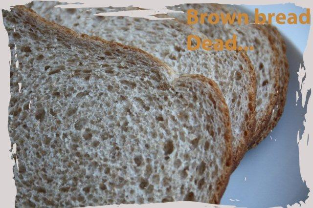 Jerga rimada Cockney Brown Bread Pan integral Dead Muerto
