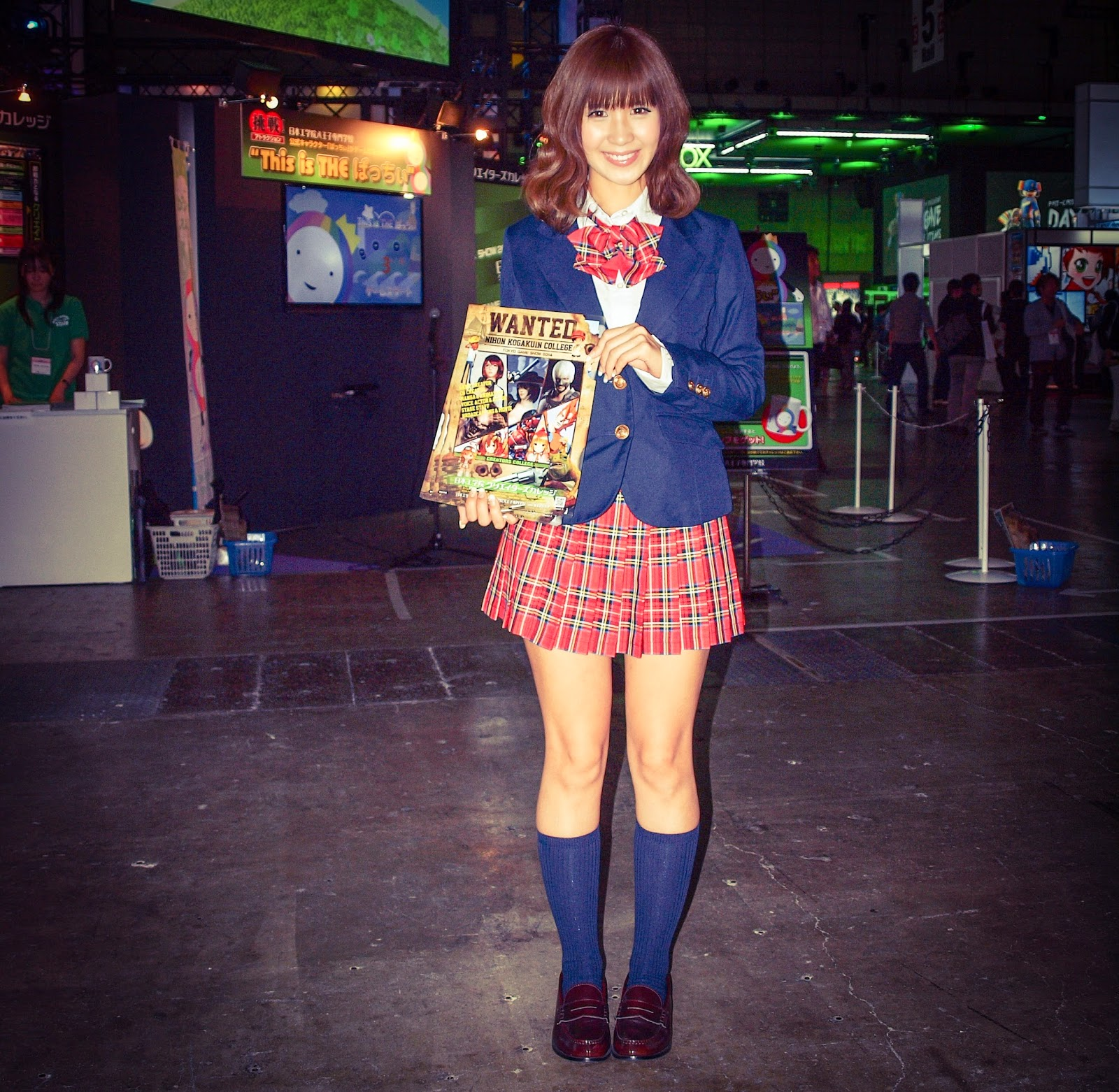 schoolgirl model