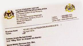Thumbnail image for Kastam Arahkan Telco Hapuskan GST Untuk Kad Prepaid