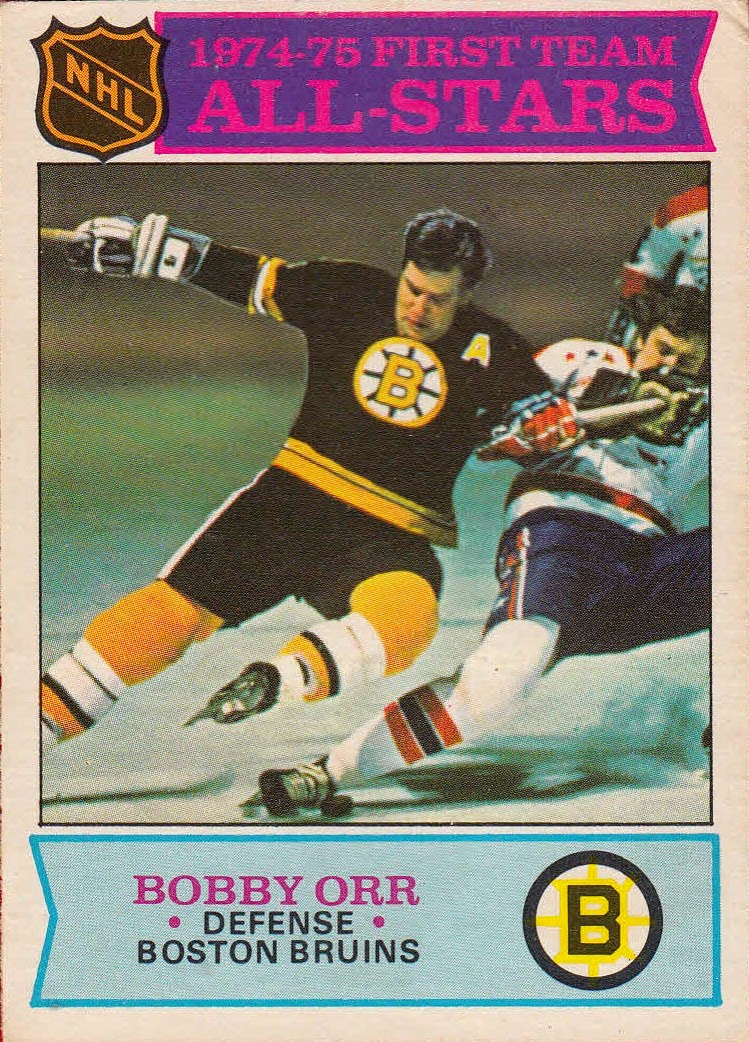 bobby orr 1975-76 o-pee-chee all-star boston bruins