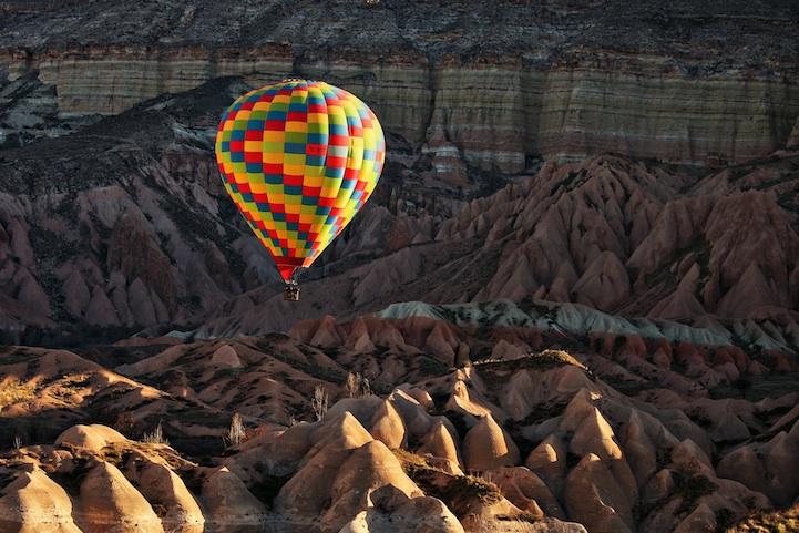 turquia capadocia globo aerostatico volar