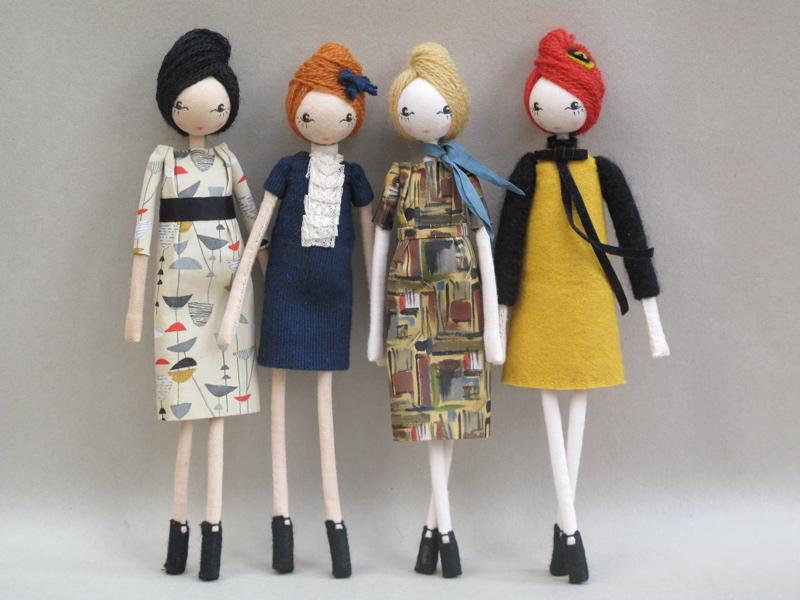 Vintage Fabric Doll 120