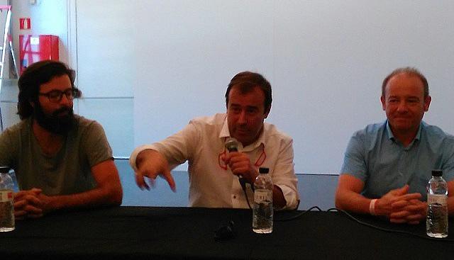 xerrada de vins al vadefoodies igualada, amb Ruben Parera i Agustí Torelló