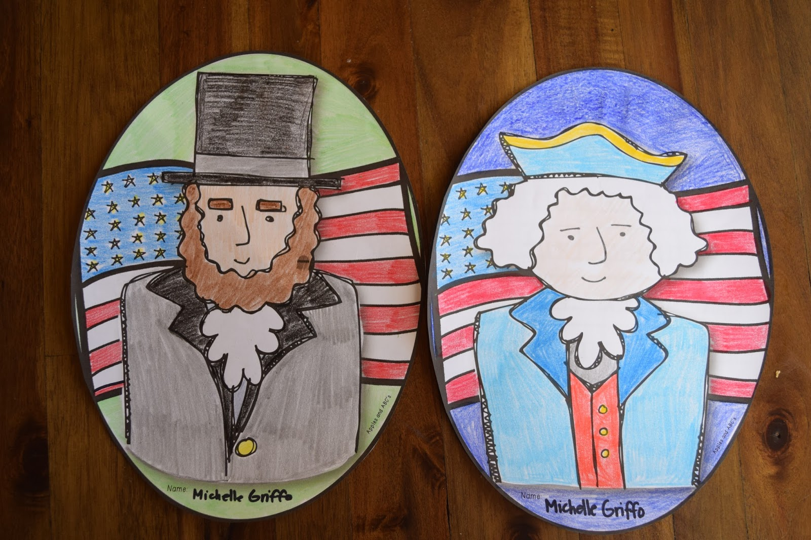 Presidents 39 day craftivity apples and abc 39 s for Weekend art projects