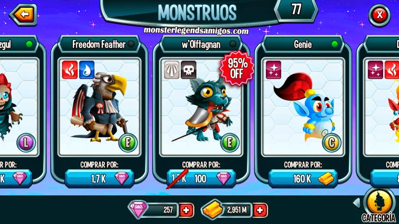 imagen de la oferta del monstruo w´offagnan