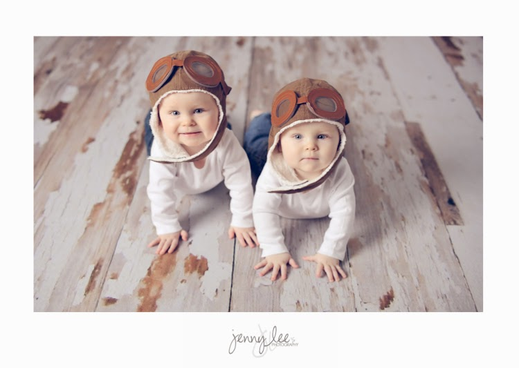 baby boy twins aviator photography session